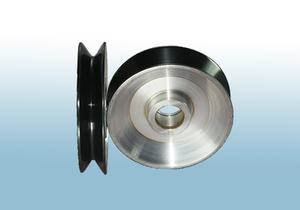 喷陶瓷系列 喷瓷铝导轮