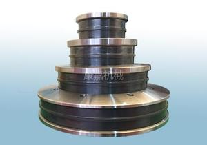 Two Groove SiC Cone Pulley