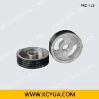 Separated Line Ceramic Coating Aluminium Pulley