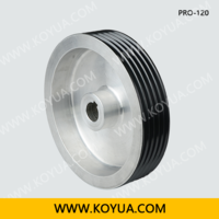 Separated Line Ceramic Coating Pulley